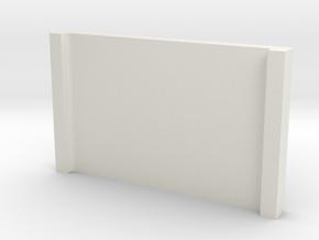 Monitor Stand in White Natural Versatile Plastic