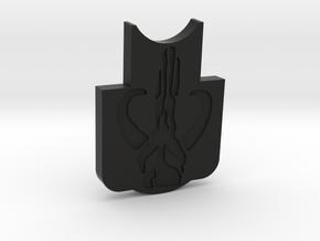 KWA Kriss Vector Front GenII Mandalorian Insert in Black Natural Versatile Plastic