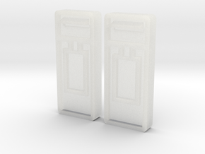 B-04 Wall Mounted Post Boxes (Pair) in Frosted Ultra Detail