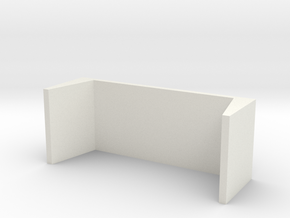 TABLE in White Natural Versatile Plastic: Large