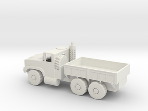 1/50 Scale Oshkosh MTVR mk 23 Cargo Truck in White Natural Versatile Plastic