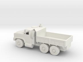 50 Scale Oshkosh MTVR mk 29 Dump Truck in White Natural Versatile Plastic