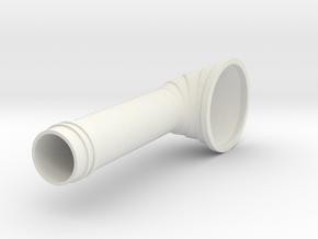 Higgins Cowl 24th scale in White Natural Versatile Plastic