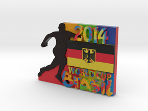 2014 World Cup - Germany in Full Color Sandstone