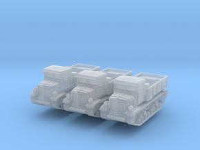 Voroshilovets tractor (x3) 1/285 in Smooth Fine Detail Plastic