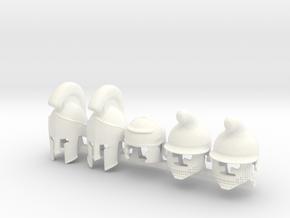 5 x Ancient A01 in White Processed Versatile Plastic