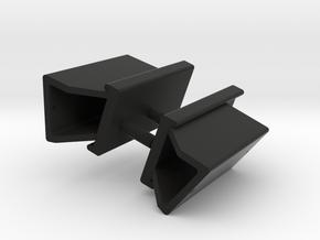 Rücklichthalter HL10 in Black Natural Versatile Plastic
