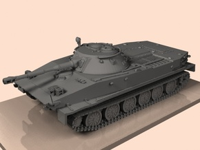 1/87 PT-76 tank in Smooth Fine Detail Plastic