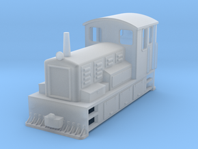 OO9 tramway drewry in Smooth Fine Detail Plastic