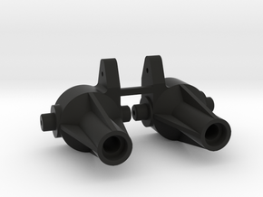 KYOSHO STEERING KNUCKLE DA-22 (PAIR) in Black Natural Versatile Plastic