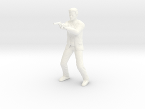 Clint Eastwood - Dirty Harry - PUNK - 1.18 in White Processed Versatile Plastic