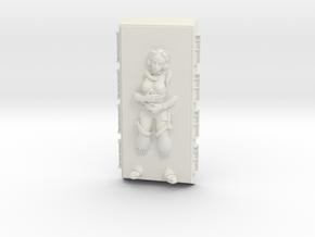Hera Syndulla in Carbonite (Star Wars Legion) in White Natural Versatile Plastic