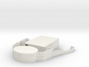 1/96 USS Iowa '44 Forward Struct Deck 02 in White Natural Versatile Plastic