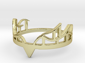 Antlers in 18k Gold Plated Brass
