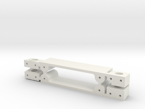 BRM Ferrari 364GTB/4 Adapter Kit in White Natural Versatile Plastic