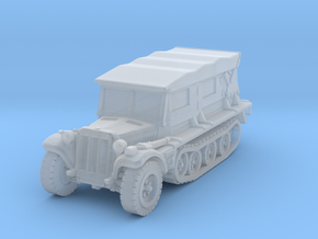 Sdkfz 10 B (covered) 1/200 in Smooth Fine Detail Plastic