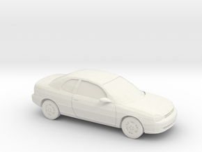 1/87 1995 Dodge Neon 2 Door in White Natural Versatile Plastic