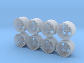 SL2 75-0 7.5 x 5mm 1/64 wheels in Smooth Fine Detail Plastic