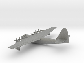Hughes H-4 Hercules in Gray PA12: 1:700