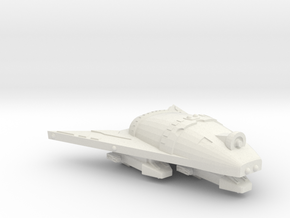3788 Scale Hydran Light Gunboat/PF Tender (FDW) CV in White Natural Versatile Plastic