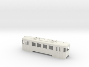 N1 Wiener Stadtbahn Triebwagen in White Natural Versatile Plastic