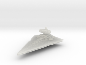 Empire light Cruiser Coruscant in Smooth Fine Detail Plastic