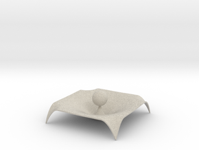 Gravity Single Body in Natural Sandstone