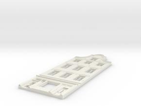 Gevel schaal N model 1 in White Natural Versatile Plastic