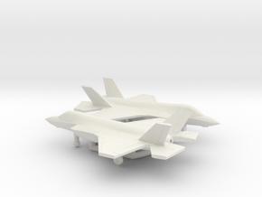 Lockheed Martin F-35B Lightning II in White Natural Versatile Plastic: 6mm