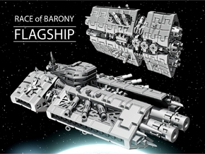 FLAGSHIP for Barony in White Natural Versatile Plastic