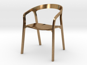 She Said Chair - 6cm tall in Natural Brass