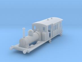 b-152fs-gswr-cl90-0-6-4-loco-carriage in Smooth Fine Detail Plastic