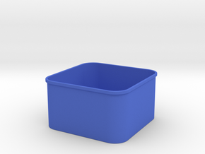 3x3 Shapeways INSIDE in Blue Strong & Flexible Polished