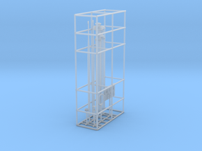 1/100 Uboot XXI Conning Tower Details SET in Smooth Fine Detail Plastic