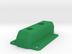 LY SwitchBlade Power switch riser in Green Processed Versatile Plastic