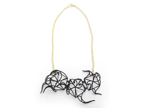 Aster Necklace in Black Strong & Flexible