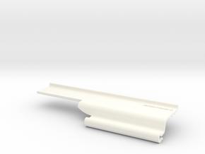 Lancia Delta fender wing trim (R) in White Processed Versatile Plastic