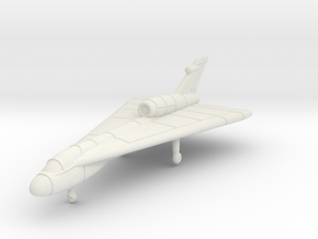 1/285 (6mm) Handley Page HP.115 in White Natural Versatile Plastic
