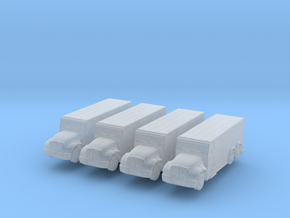 International Armored Truck 6x6 (x4) 1/400 in Smooth Fine Detail Plastic