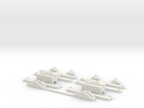 steering front axle scale 0 in White Natural Versatile Plastic