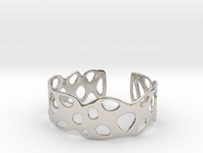 Cellular Bracelet Size L in Platinum