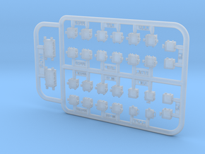1/35 and 1/16 AN/VIC-3(V) Intercom set MSP35-002 in Smoothest Fine Detail Plastic: 1:35