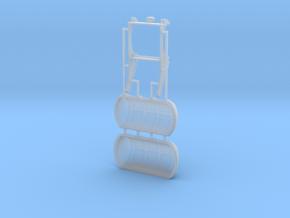 Rettungsinsel TYP-A 1:45, mit Sockel Typ-B in Smooth Fine Detail Plastic