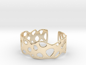 Cellular Bracelet Size M in 14K Yellow Gold