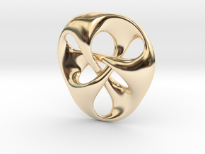 pendant III in 14K Yellow Gold