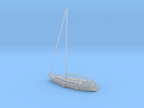 Sailboat 01.N Scale (1:160) in Smooth Fine Detail Plastic