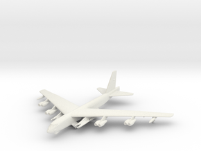B-52H w/gear in White Natural Versatile Plastic: 6mm