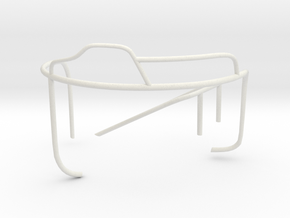 1/32 US Higgins Turret limit-stop-railing Starboar in White Natural Versatile Plastic