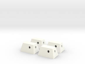 RCS Housing Set of 4-1:35 in White Strong & Flexible Polished