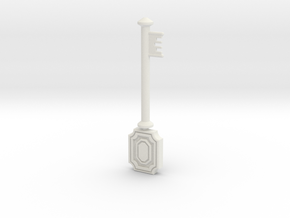 Resident Evil Remake Accurate Armor Key in White Natural Versatile Plastic